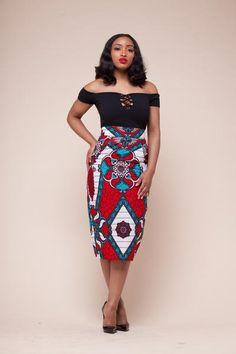 Mirra Skirt (Limited African Fashion piece) – Grass-Fields