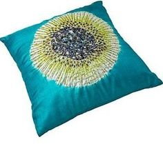 pillow Diy Pillows, Decorative Pillows, Throw Pillows, Pillow Room, Pillow Talk, Pillow Inspiration, Dream Decor, Soft Furnishings, Aqua