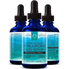 Гиалуроновая кислота в сыворотке крови - ЛУЧШИЙ Anti-Aging Уход за кожей продукт для лица с витамином С Сыворотка, витамин Е и зеленый чай