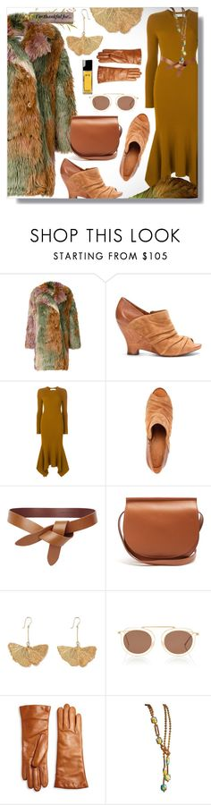 """""""Grace"""" by simply-one ❤ liked on Polyvore featuring MM6 Maison Margiela, Victoria Beckham, Givenchy, Aurélie Bidermann, Thierry Lasry, Saks Fifth Avenue Collection, Chanel and thanksgiving"""