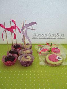 Doces Opções: Bolachas e cakepops