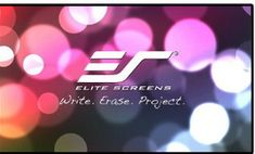 Travel anywhere you want with the portable screen projector. Get in touch with Elite Screens. amzn.to/1KS0Nbm