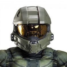 The Halo: Master Chief Full Helmet For Kids is a perfect accessory for your Halloween costume this year. Accessorize your costume with our exclusive props, decorations, wigs and many more at Costume SuperCenter. Set your costume above the rest! Halo Cosplay, Cosplay Armor, Video Game Costumes, Cool Costumes, Halloween Costumes For Kids, Video Games, Costume Ideas, Party Costumes, Costume Hats