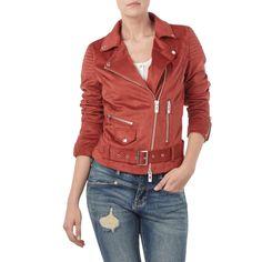 | REVIEW Biker-Jacke mit Gürtel für Damen