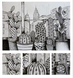 Staršia práca Výkres A2 tuš  #art #artistoninstagram #artwork #dailyart #dailyillustration #illustration #draw #drawingofday #drawing #umenie #instaart #inspiration #dneskreslim #dnestvorim #perokresba #blackpen #cactus #cactusdraw #cactuslover #illustrationofday #bobekkresli #creative #creativemood #arthelps Cactus Drawing, Insta Art, Zentangle, Drawings, Creative, Illustration, Artist, Artwork, Inspiration