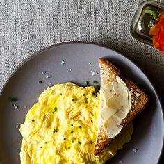 Daniel Patterson's Poached Scrambled Eggs Recipe on Food52 recipe on Food52