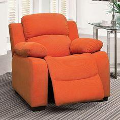 Connie Orange Kids Chair - CM6007OR