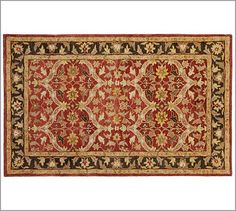Vienna Persian-Style Rug for my dining room.  #potterybarn