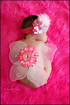 Baby Fairy Wings by CaliAnnCreations on Etsy,