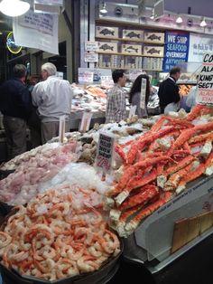 Wow! Seafood!