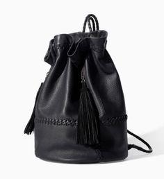Un sac à dos façon seau