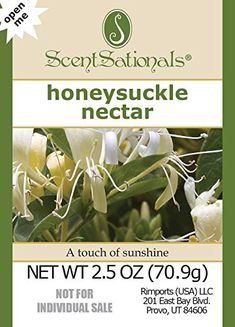 ScentSationals Honeysuckle Nectar Fragrance Scented Wax Cubes Melts - for Candle Warmer or Electric Tart Warmer Scented Wax Warmer, Scented Wax Melts, Soy Wax Candles, Scented Candles, Candle Warmer Plate, Electric Tart Warmer, Home Fragrances, Cubes, Link