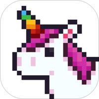 Unicorn Pixel Art By Numbers By Liftapp Pixel Art Games Pixel Art Coloring Books