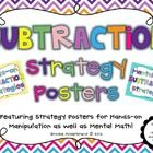 These Hands-on and Mental Math Subtraction Strategies Posters serve as a colorful visual of important math strategies. Simply print and laminate ea...