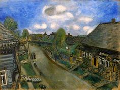 "Chagall, Pintor De Sonhos...  ""Farmácia Em Vitebsk"",1914."