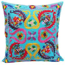 Ethnic embroidered cushion
