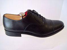ABBEYDALE BY ANIMAS CODE Black Leather Oxfords Shoes Size 11 1/2  #ABBEYDALEBYANIMASCODE #Oxfords