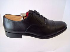 ABBEYDALE BY ANIMAS CODE Black Leather Oxfords Shoes Size 11 1/2  #ABBEYDALEBYANIMASCODE #Oxfords