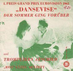 """Roy Etzel Sextett - """"Dansevise"""", instrumental cover version of the winning song Eurovision Song Contest 1963"""