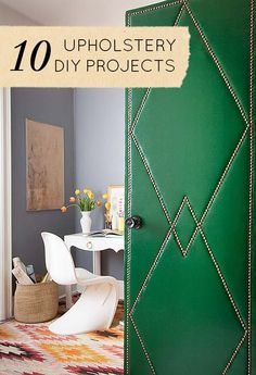 Upholstery 101: 10 Projects to Get You Started
