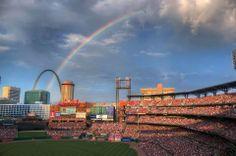 Baseball Heaven....Busch Stadium <3