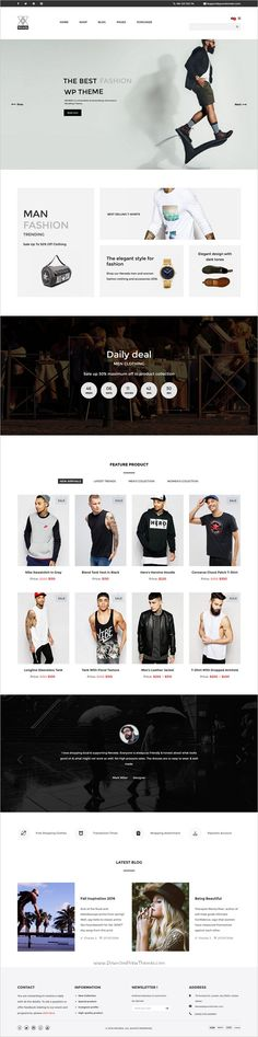 NEVEDA is a clean yet professional #WooCommerce #WordPress #theme for striking eCommerce website with 3 unique homepage layouts download now➩ https://themeforest.net/item/neveda-responsive-fashion-ecommerce-wordpress-theme/18587113?ref=Datasata