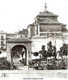 Plaza Dos de Mayo de 1890 MADRID