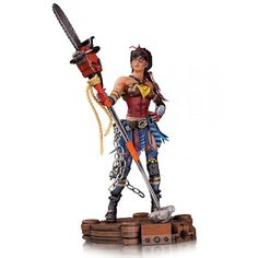 Infinite Crisis Atomic Wonder Woman Statue - Someday, I will have you.