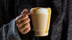Salted Caramel Tea Latte