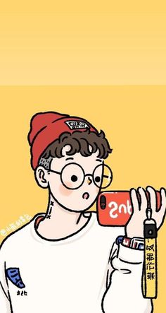 Cerita • Instagram Cute Cartoon Drawings, Cartoon Art Styles, Anime Chibi, Anime Art, Tmblr Girl, Man Illustration, Cute Couples Photos, Artist Alley, Arte Pop