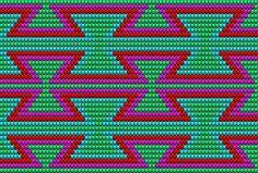 Wayuu Mochila chart OR Magenta, Mochila Crochet, Bag Crochet, Crochet Purses, Crochet Chart, Crochet Stitches, Tapestry Crochet Patterns, Bead Loom Patterns, Purse Patterns, Weaving Patterns