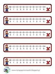 nyomtatható számegyenes 20-ig - Google-keresés Kindergarten Math Worksheets, Teaching Math, Math Activities, Maths, 1st Grade Math, First Grade, Math For Kids, Math Lessons, Periodic Table