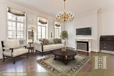 Upper Eastside, NYC 4BR Virtually Staged. Click to see unstaged.