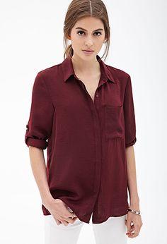 Boxy Woven Shirt
