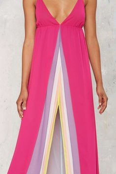Nasty Gal Hazy Shades of Love Maxi Dress | Shop Clothes at Nasty Gal!