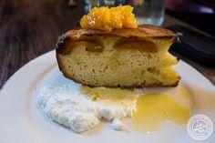 Apricot tart at Sorellina in Hoboken, NJ
