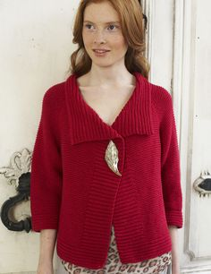 Nice simple sweater -- for the boucle?