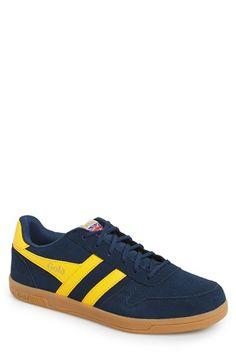 Men's Gola 'Stadia' Perforated Suede Sneaker