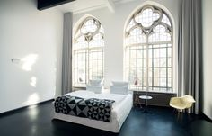 This Hotel Blends Neo-Gothic Architecture With Modern Design Beautifully. One of Germany's coolest spots.
