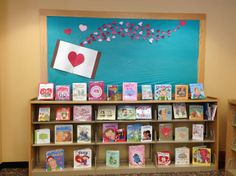 Hearts and Valentine's Day Bulletin Board