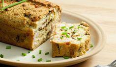 Солен кекс с тиквички - Рецепта | Gotvach.bg