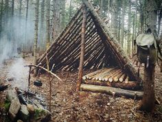 #sunday #shelter #bushcraft