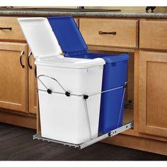 Under Cabinet Trash Can Pull Out Roselawnlutheran With Proportions 1000 X  1000 Small Kitchen Trash Can Cabinet   Picking Out The Proper Kitchen  Cabinets Ca