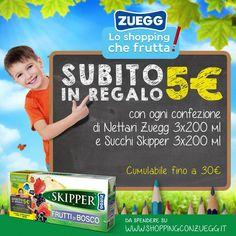 Shopping con Zuegg: lo shopping che frutta - http://www.omaggiomania.com/buoni-sconto/shopping-zuegg-shopping-frutta/