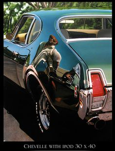THIS IS NOT A PHOTOGRAPH! Cheryl Kelley-chevelle with iPod