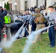Peaceful march to the polls in NC is met with police pepper spray and arrests, causing outcry on eve of election Political Opinion, News Around The World, Law And Order, God Bless America, The Washington Post, African History, Human Rights, Pepper, Eve