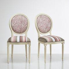 Chaise médaillon Trianon (lot de 2)