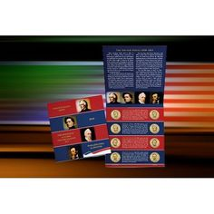 2010 PRESIDENT 8 COIN P&D UNCIRCULATED DOLLAR SET WITH LINCOLN DOLLARS MIUSA