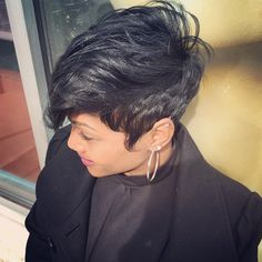 Like the River Salon in Atlanta Hairstylist: Najah Aziz