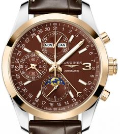 Longines+Conquest+Classic+Triple+Crown+Limited+Edition+Watch